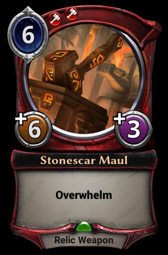 Stonescar Maul card