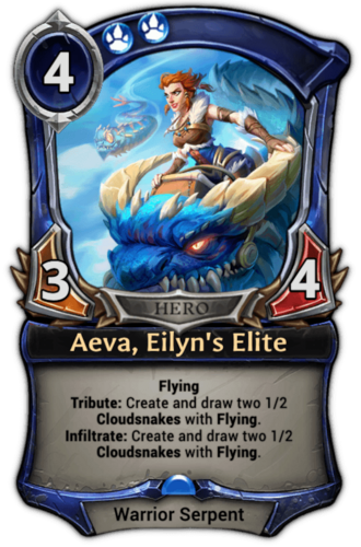 Aeva, Eilyn's Elite card