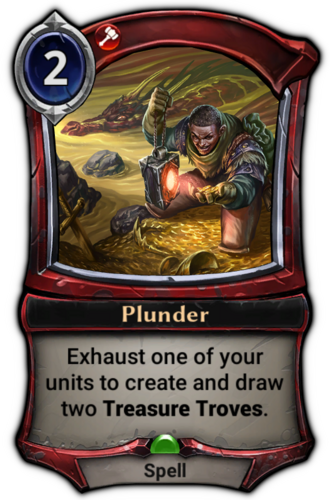 Plunder card