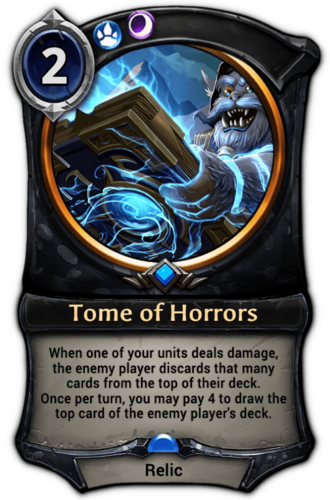 Tome of Horrors card