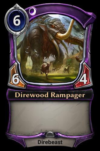 Direwood Rampager card