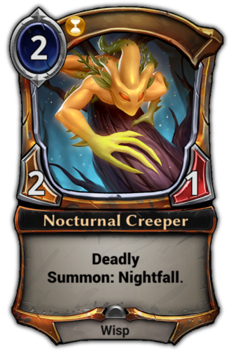 Nocturnal Creeper card