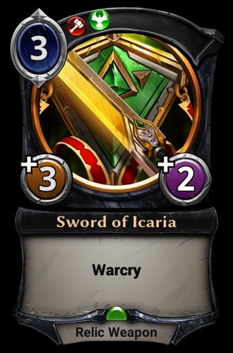 Sword of Icaria card