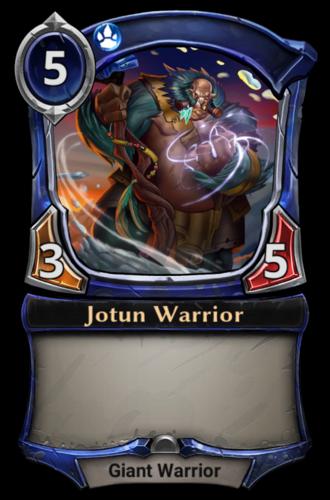 Jotun Warrior card