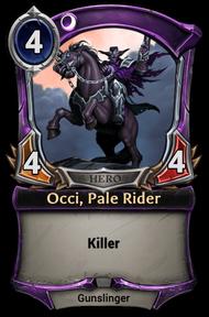 Occi, Pale Rider