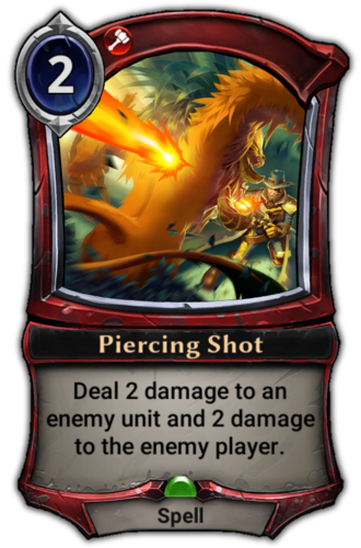 Piercing Shot card