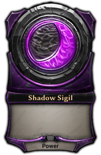 Shadow Sigil card