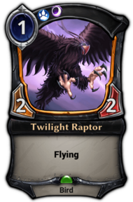 Twilight Raptor