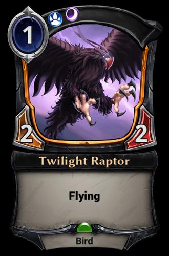 Twilight Raptor card