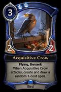 Acquisitive Crow