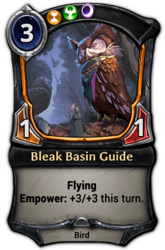 Bleak Basin Guide card