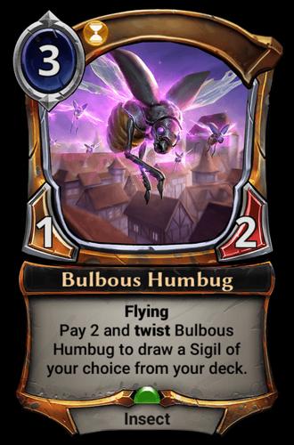 Bulbous Humbug card