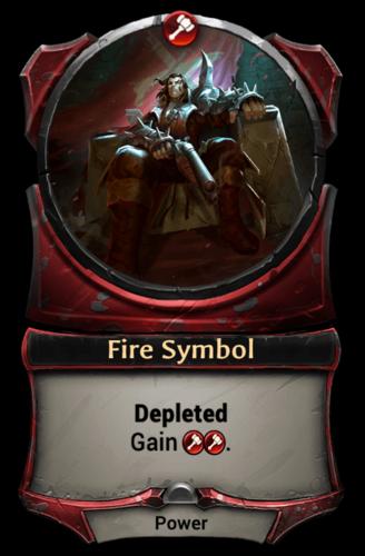 Fire Symbol card