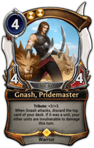 Gnash, Pridemaster