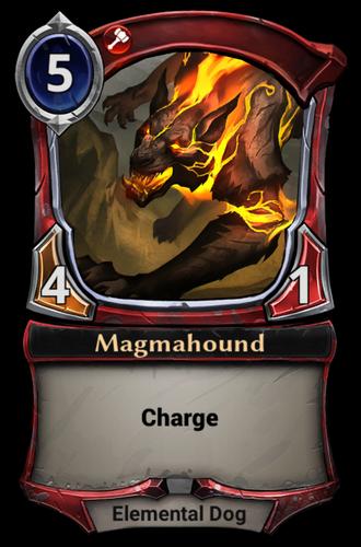 Magmahound card