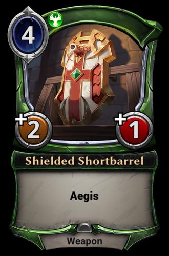 Shielded Shortbarrel card