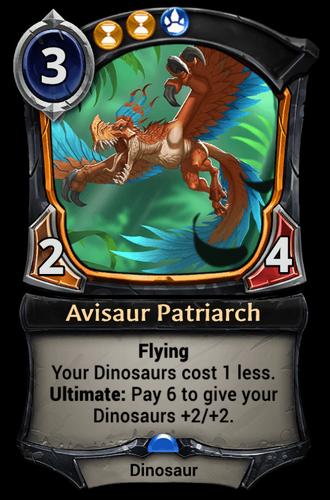 Avisaur Patriarch card
