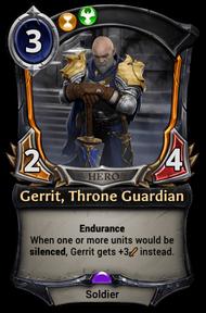 Gerrit, Throne Guardian