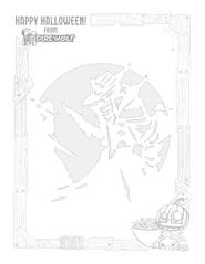 Pumpkin Stencil - Bandit Queen