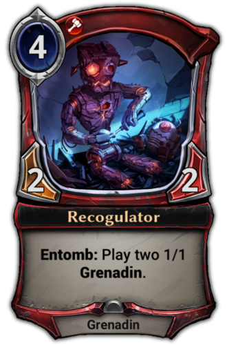 Recogulator card