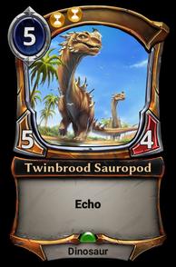 Twinbrood Sauropod