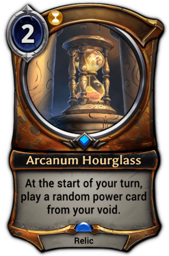Arcanum Hourglass card