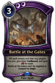 Battle at the Gates
