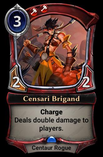 Censari Brigand card