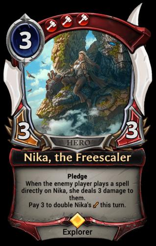 Nika, the Freescaler card