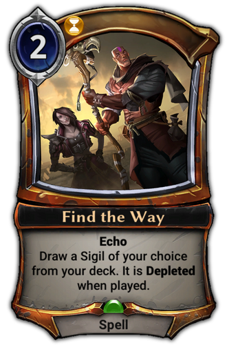 Find the Way card