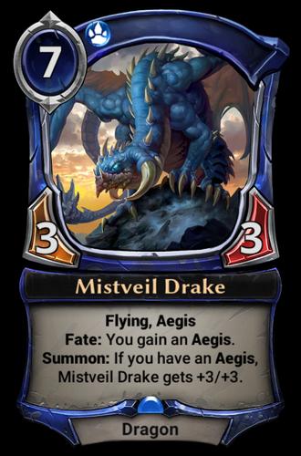 Mistveil Drake card