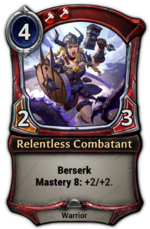 Relentless Combatant