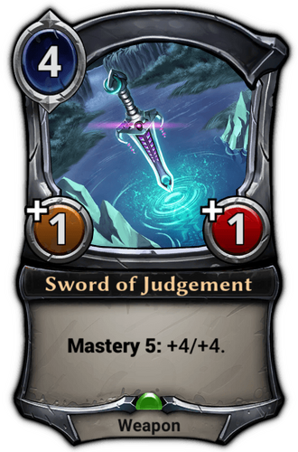 Sword of Judgement card