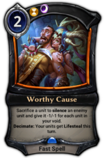 Worthy Cause