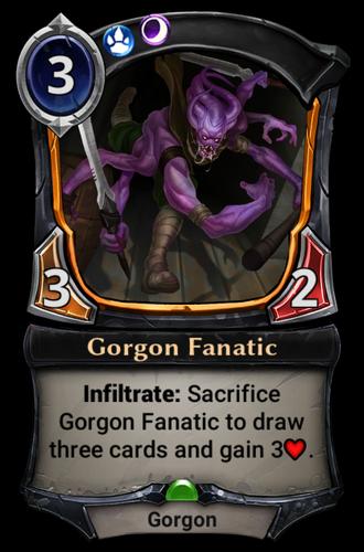 Gorgon Fanatic card
