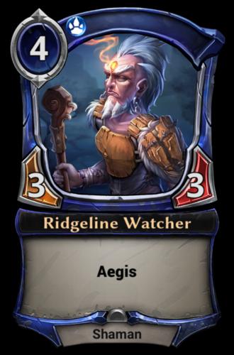 Ridgeline Watcher card