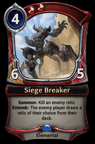 Siege Breaker card