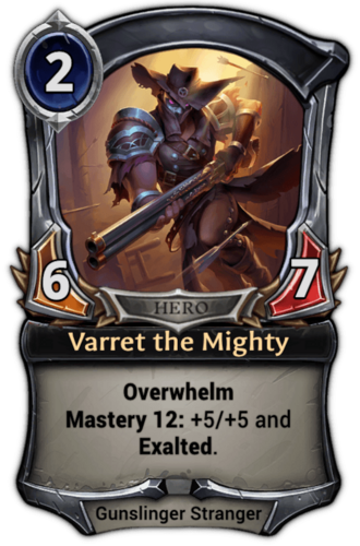 Varret the Mighty card