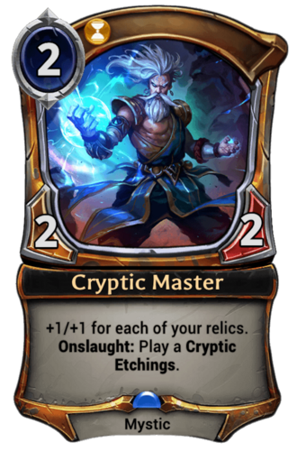 Cryptic Master card