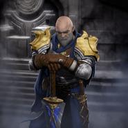 Full Art - Gerrit, Throne Guardian