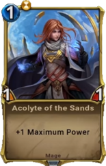 Acolyte of the Sands - Alpha