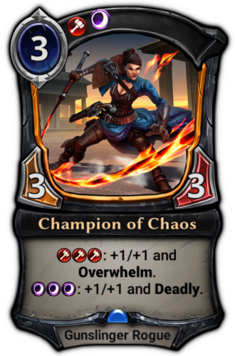 Champion of Chaos card