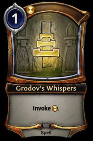 Grodov's Whispers
