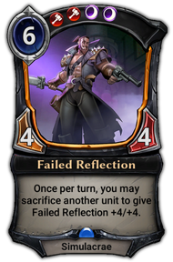 Failed Reflection
