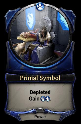 Primal Symbol card