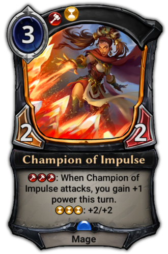 Champion of Impulse card