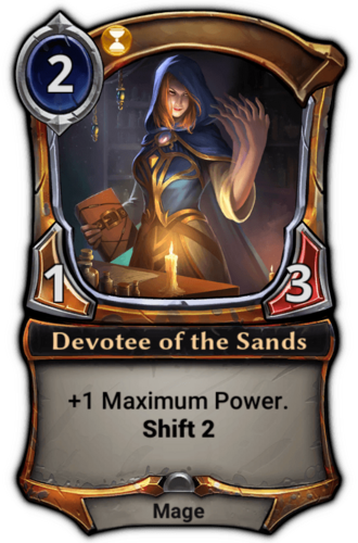 Devotee of the Sands card