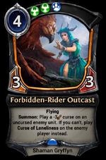 Forbidden-Rider Outcast