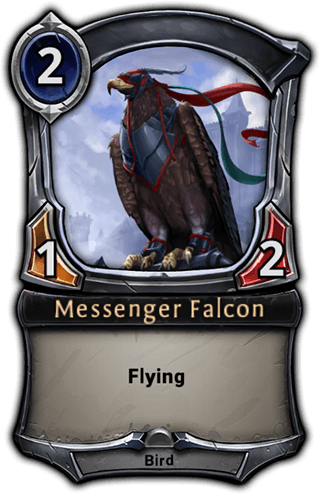 Messenger Falcon card