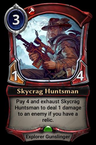 Skycrag Huntsman card